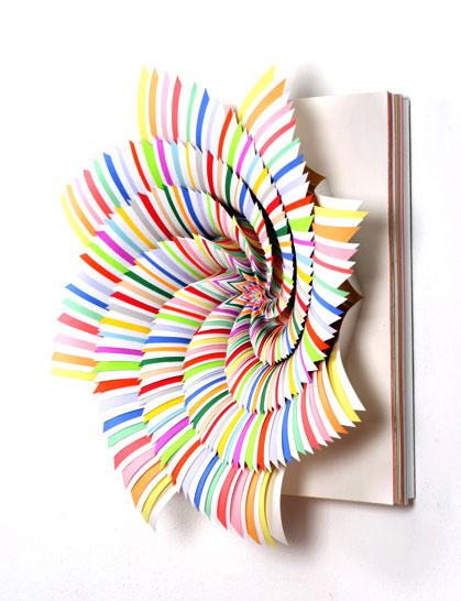 Color Paper Flower