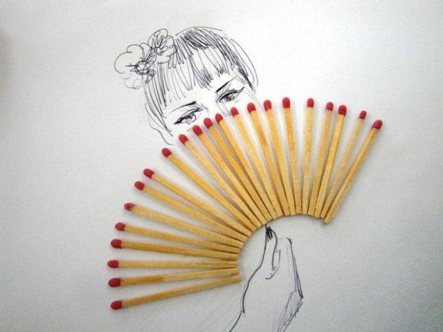 Match Stick Fan